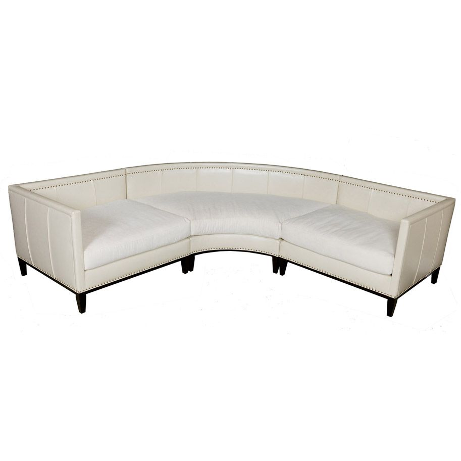 Large Deep Sectional Sofas: Large Round Curved Sofa Sectional