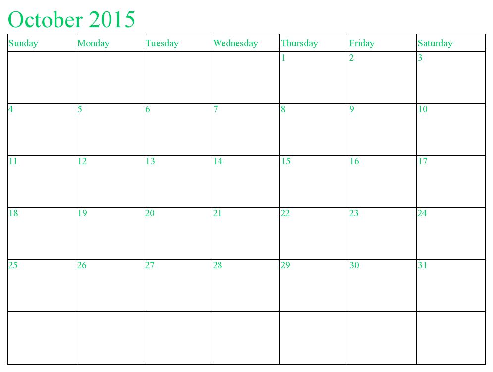 October  Calendar Pdf  In This Post WeRe Sharing Latest