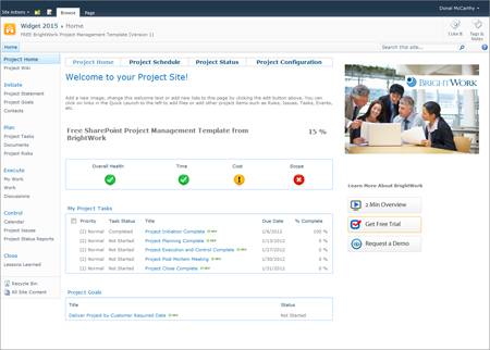 exclusive 2 free sharepoint project management templates