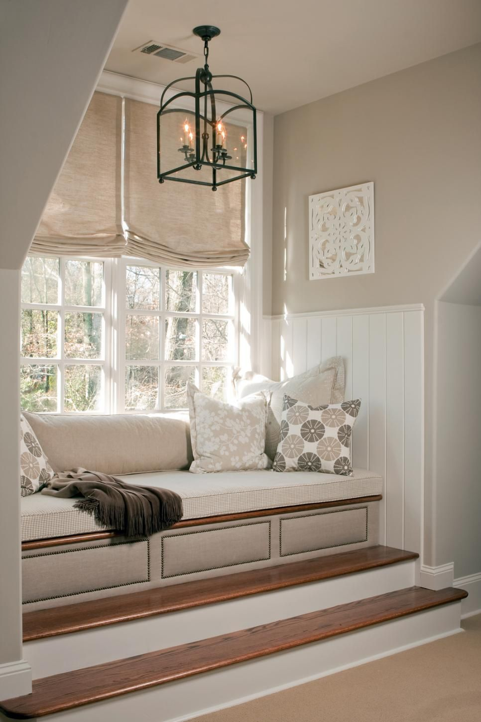 Window seat storage camps pinterest - Cozy Window Seats We Love