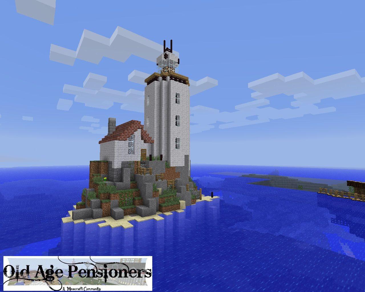 Lighthouse Guilty Pleasure Pinterest Minecraft Minecraft