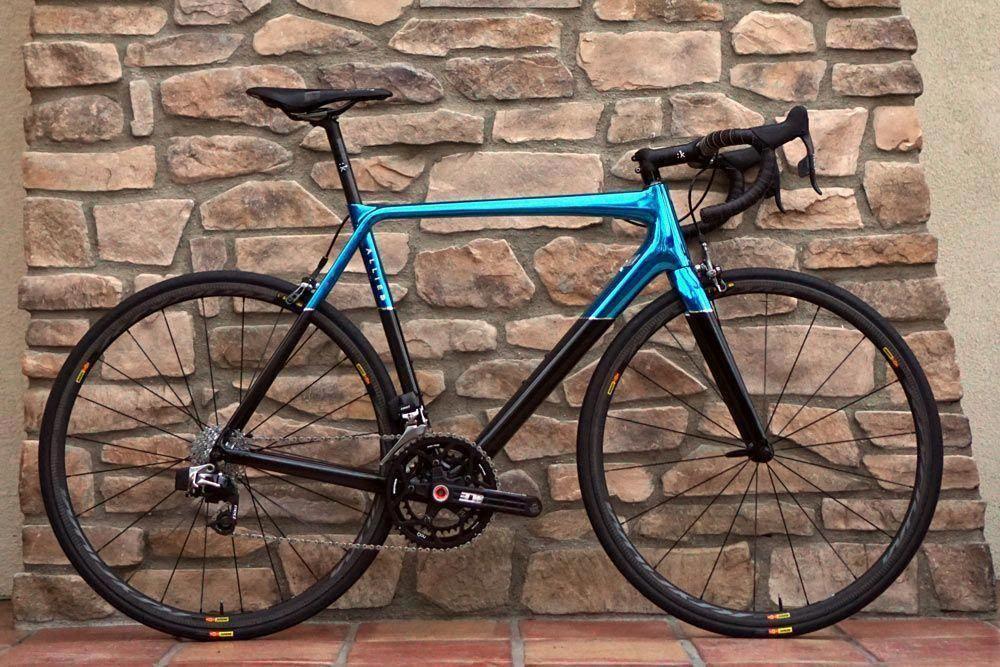 Allied Cycle Works Alfa premium carbon fiber road bike made by HIA Velo in  the USA #coolbikeaccessories,roadbikeaccessories… | Road bike, Road bikes, Road  bike gear