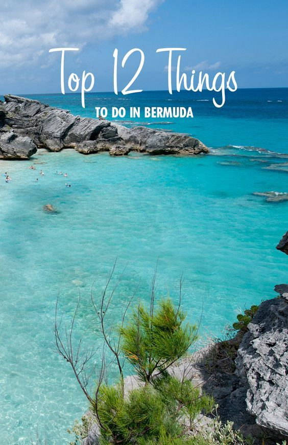 Top 12 Things To Do In Bermuda
