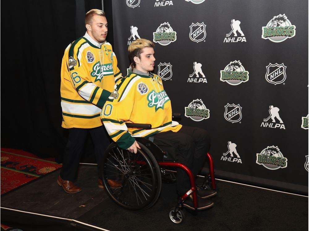 Kaleb and Ryan Nhl awards, Broncos, Humboldt