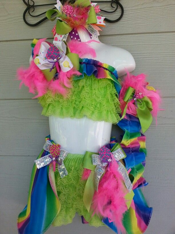 Candyland Pageant Wear
