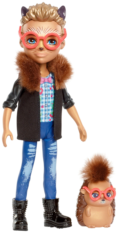 Enchantimals 6 Inch Fashion Doll Hixby With Hedgehog Little Mermaid Doll Hedgehog Dolls