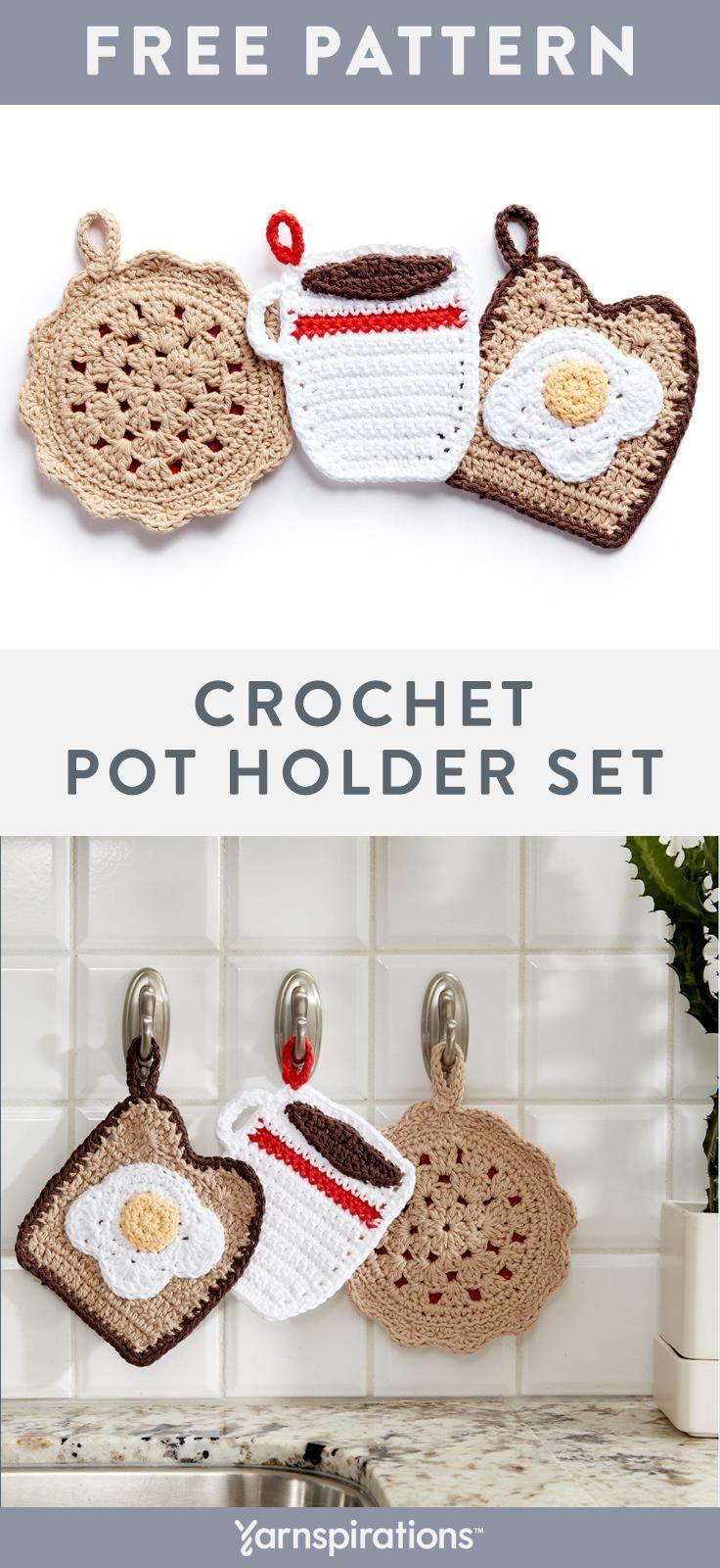 Free Decorative Crochet Pot Holder Patterns | Hostess Gift Ideas ...