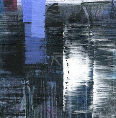 GRISAZUR: Acrílico sobre papel, 13x13 cm.Sep. 5, 2016