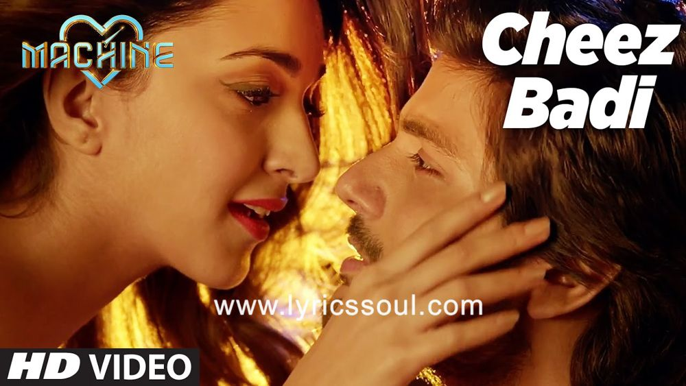 Cheez Badi Lyrics Machine Neha Kakkar Udit Narayan Kiara
