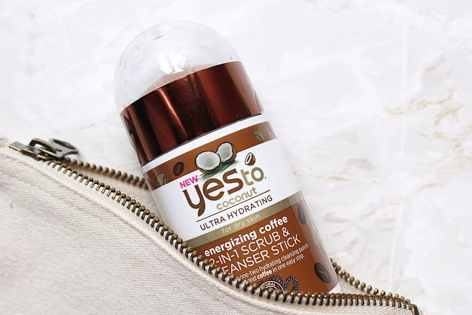 Yes To Coconut 2in1 Scrub & Cleanser Stick in 2020