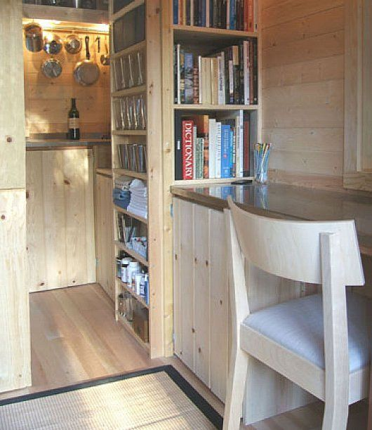 pretty inside clean with lots of storage tumbleweed tiny house