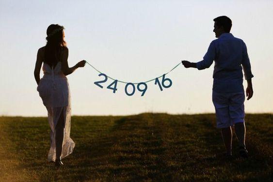 40 maravillosas ideas para guardar la tarjeta de fecha para tu boda