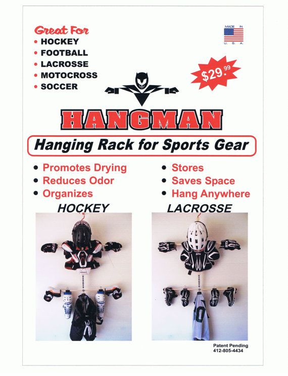 fb988d887 Drying Rack for Sports Equipment (hockey