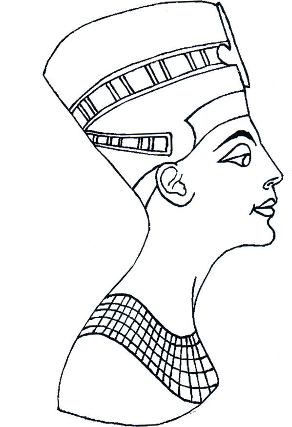Egyptian Drawings 035 Teens Coloring Pages Pagine Da Colorare