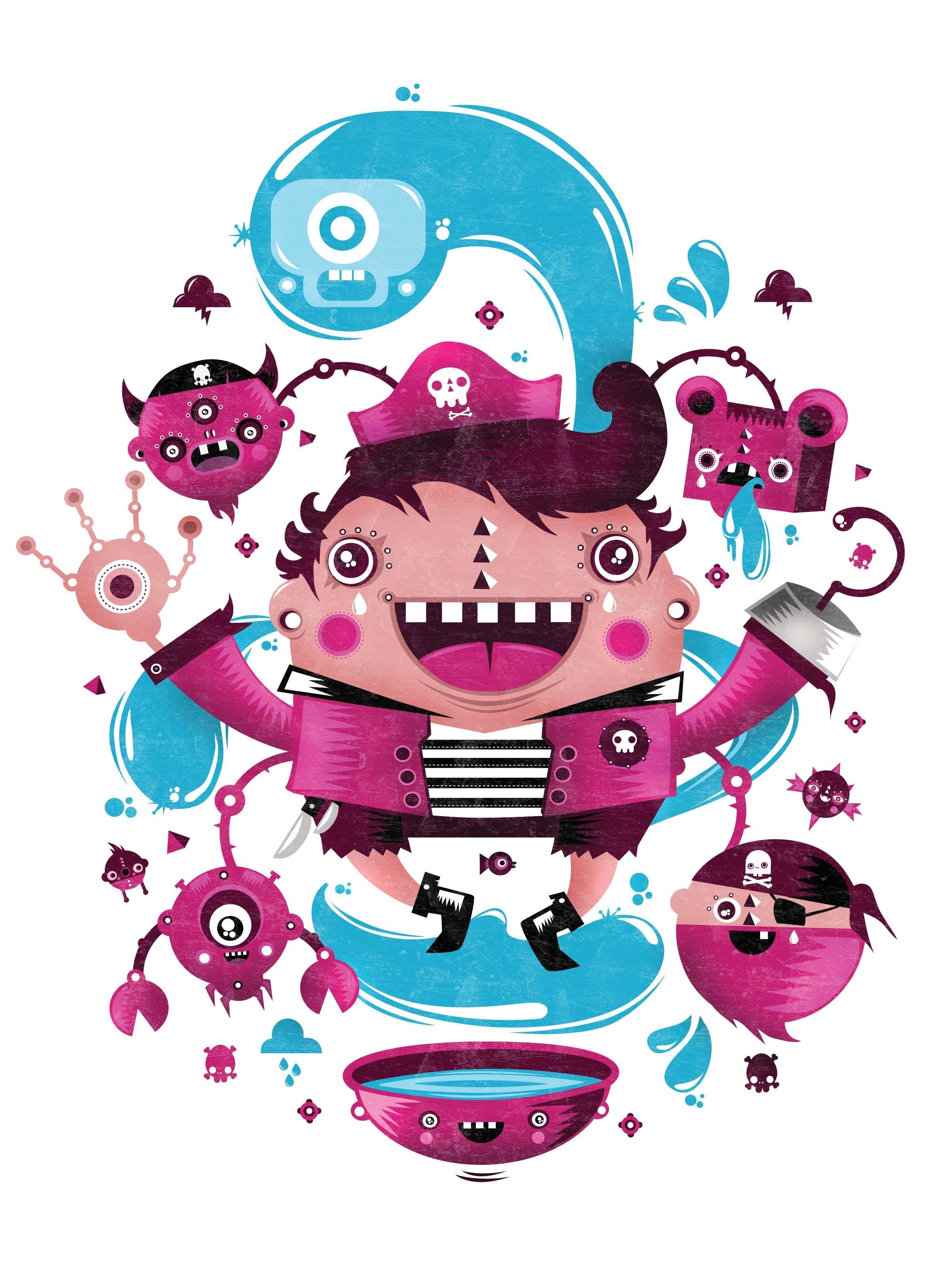 Adobe illustrator photoshop tutorial create cartoon figures with adobe illustrator photoshop tutorial create cartoon figures with ease digital arts baditri Gallery