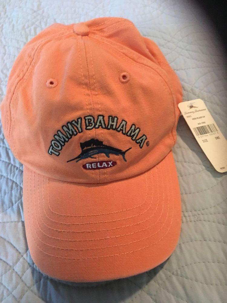 78e18eb9004 Mens Tommy Bahama Relax Baseball Hat One Size BNWT  fashion  clothing  shoes