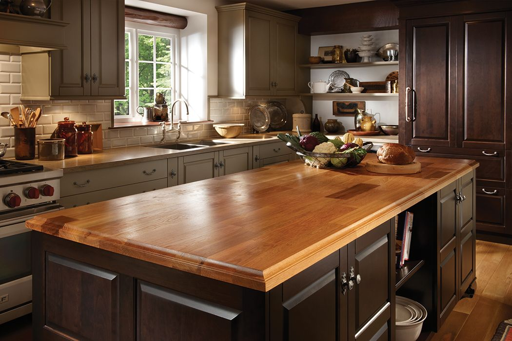 Traditional Stonehill Kitchen By Woodmode Shown In Complementary Java And Heirloom Green Stone Finishes Kitchen Remodel Mountain House Kitchen Home Kitchens