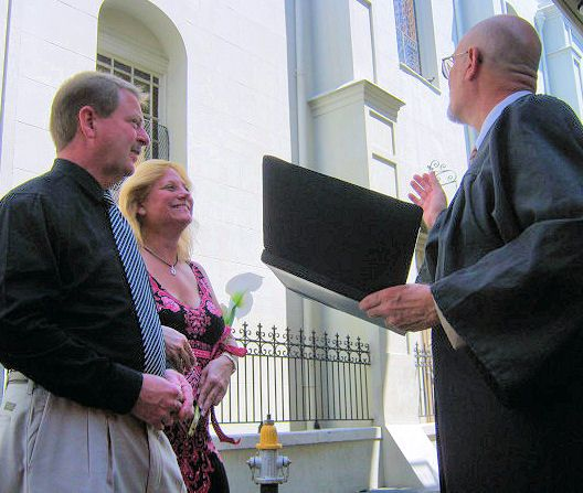 Get Married In New Orleans Fig Street Wedding Chaplain Jerry Schwehm Officiant