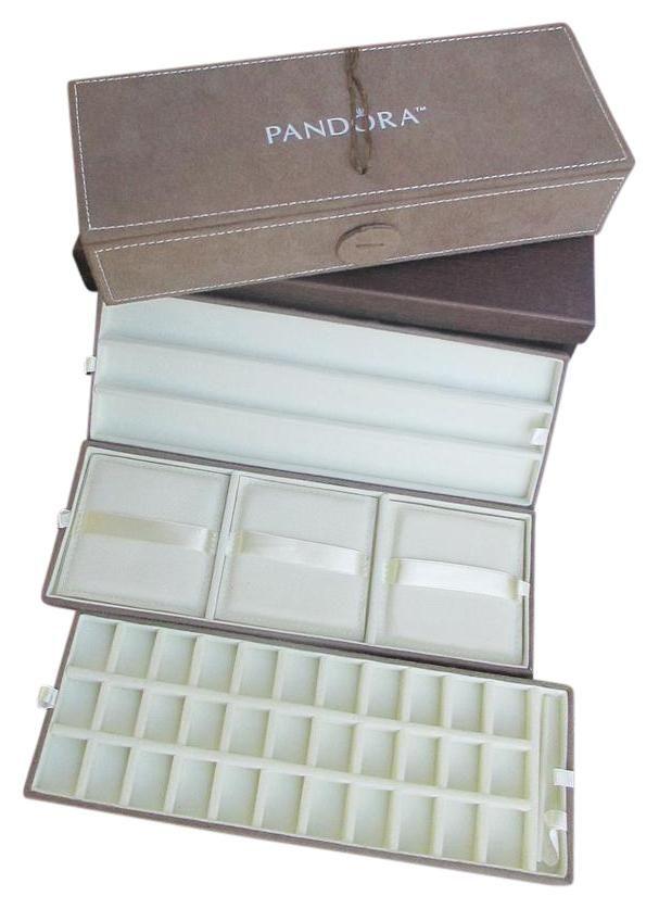 Brown Box Sale Jewelry Display Suede Travel Charm Pandora