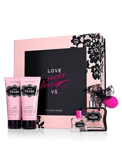 1e7bc49a18b Victoria s Secret - Noir Tease Gift Box. I occasionally like to smell like  a fancy prostitute.