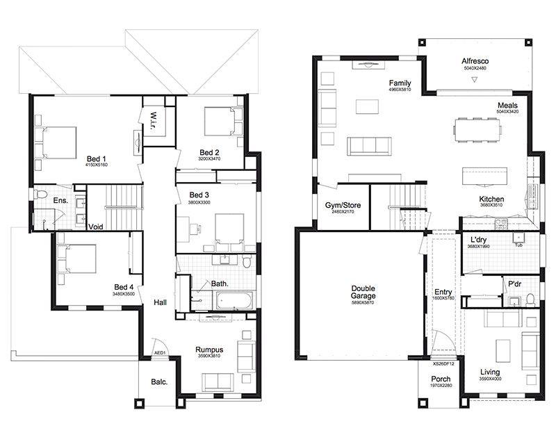 Anita 34 Better Built Homes House Floor Plans Floor Plans House Design