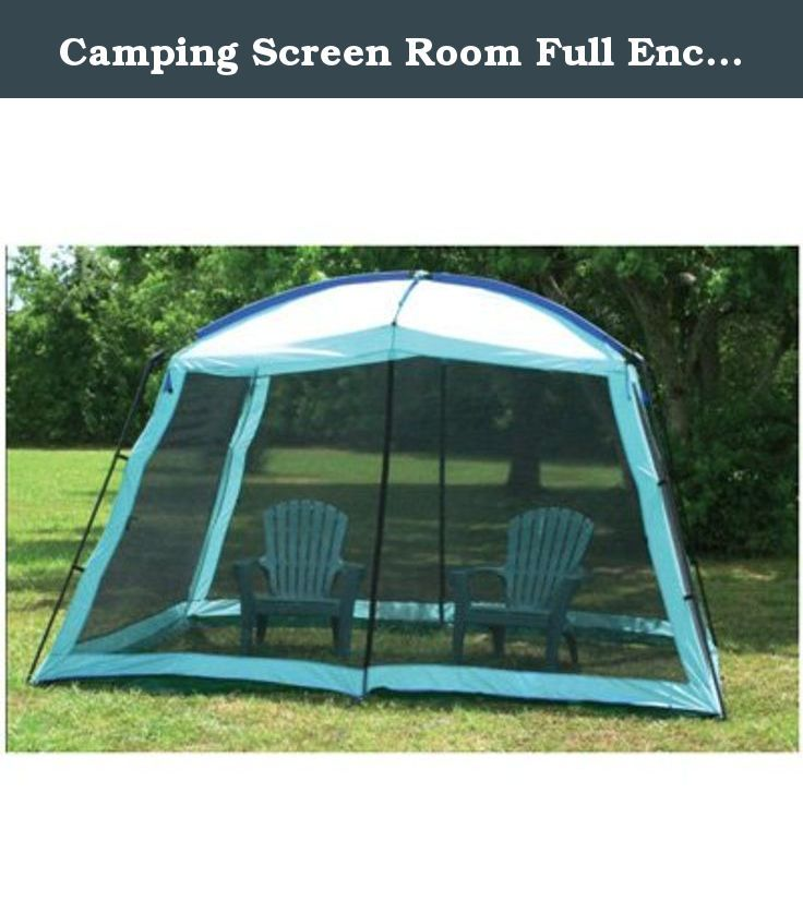 C&ing Screen Room Full Enclosure Canopy Shade Gazebo with Dome Top Outdoor Screen Room (12  sc 1 st  Pinterest & Camping Screen Room Full Enclosure Canopy Shade Gazebo with Dome ...