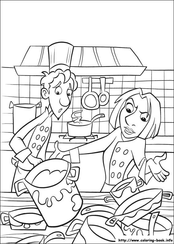 cool ratatouille 41 coloring page - Ratatouille Coloring Pages