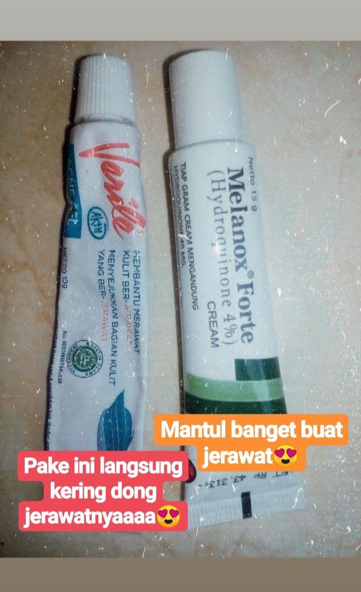 Melanox Cream Untuk Jerawat