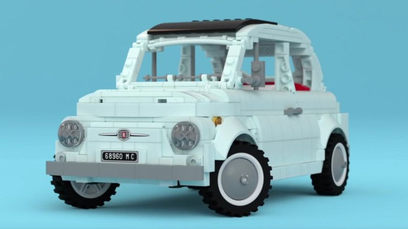 This Sweet Fiat 500 Lego Kit Could Be A Reality If It Gets Enough Support Fiat 500 Lego Kits Fiat