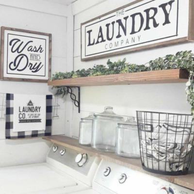 Photo of Waschküche Zeichen für das Haus – DIY Home Decor | CraftCuts.com – Haus Dekora …