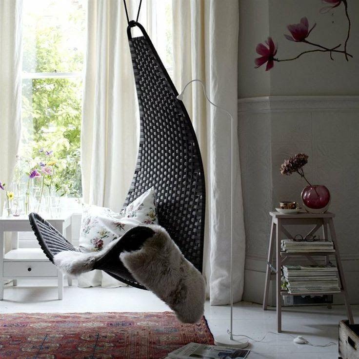 relaxing space daily dream decor love chairs pinterest maison interieur et deco. Black Bedroom Furniture Sets. Home Design Ideas