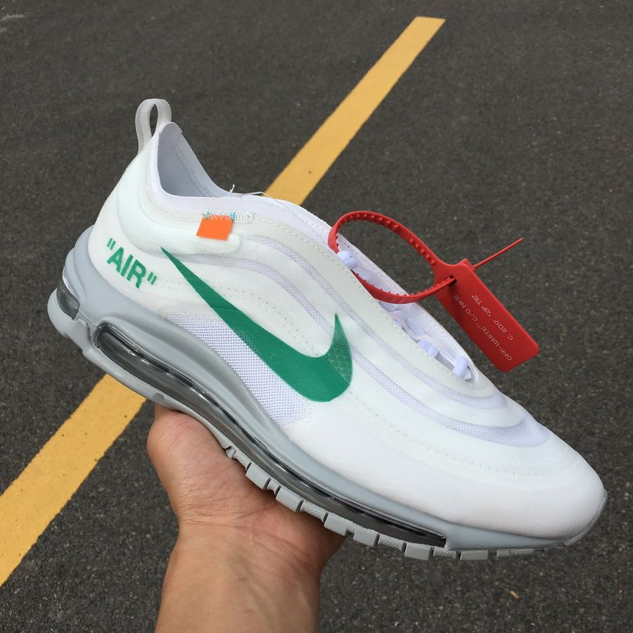 the best attitude b8c6b 07a00 Off-White x Nike Air Max 97 OG Menta AJ4585-101