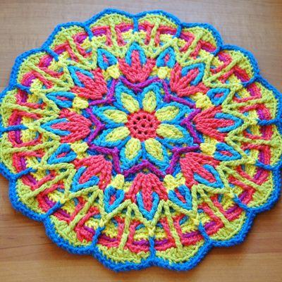 mandala CAL - let the voting begin! - a creative being | Crochet ...