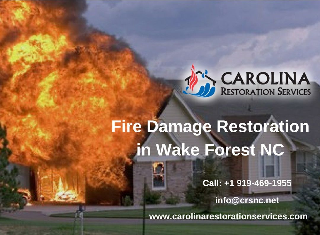 Fire Damage Restoration In Wake Forest Nc Damage Restoration Fire Damage Restoration Services