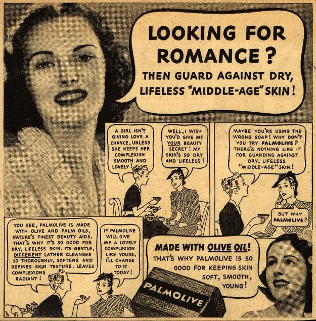 Palmolive Newspaper Soap Advertisement From 1939