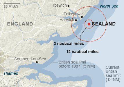 All Hail Sealand Principality Of Sealand Southend On Sea
