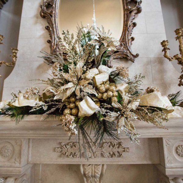 Mantel Arrangements: The Largest Selection Of Christmas Decorations In Chicago