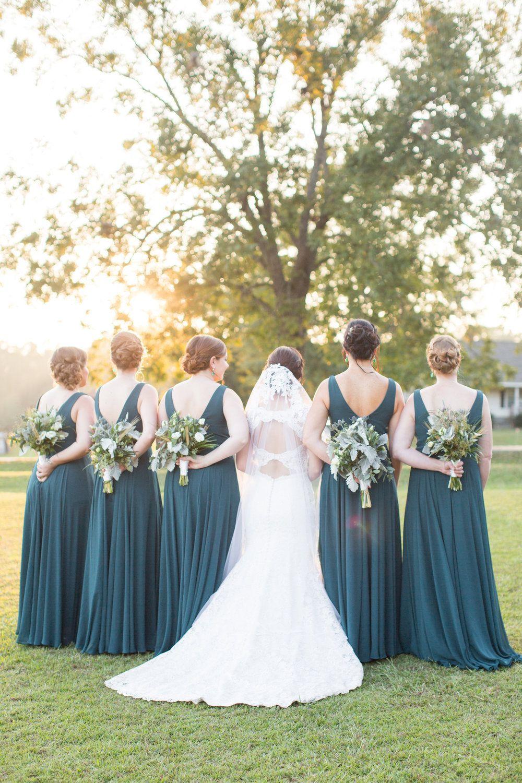Erica will southern backyard wedding in newberry sc palmetto