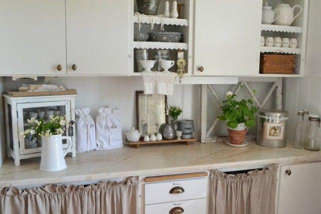 Vintage: estilo retro clásico en la cocina | Cocina blanca, Estilo ...