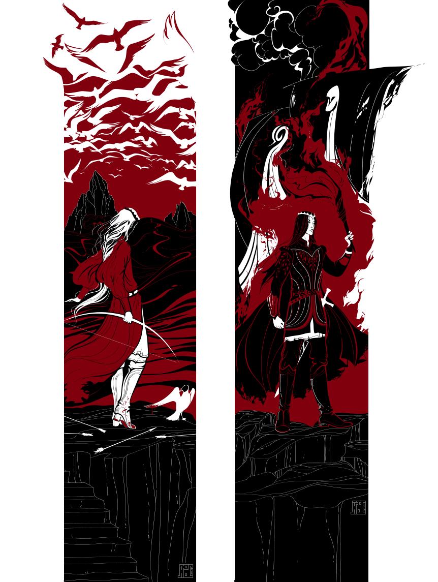Обои властилин колец, John howe, gandalfs return. Фантастика