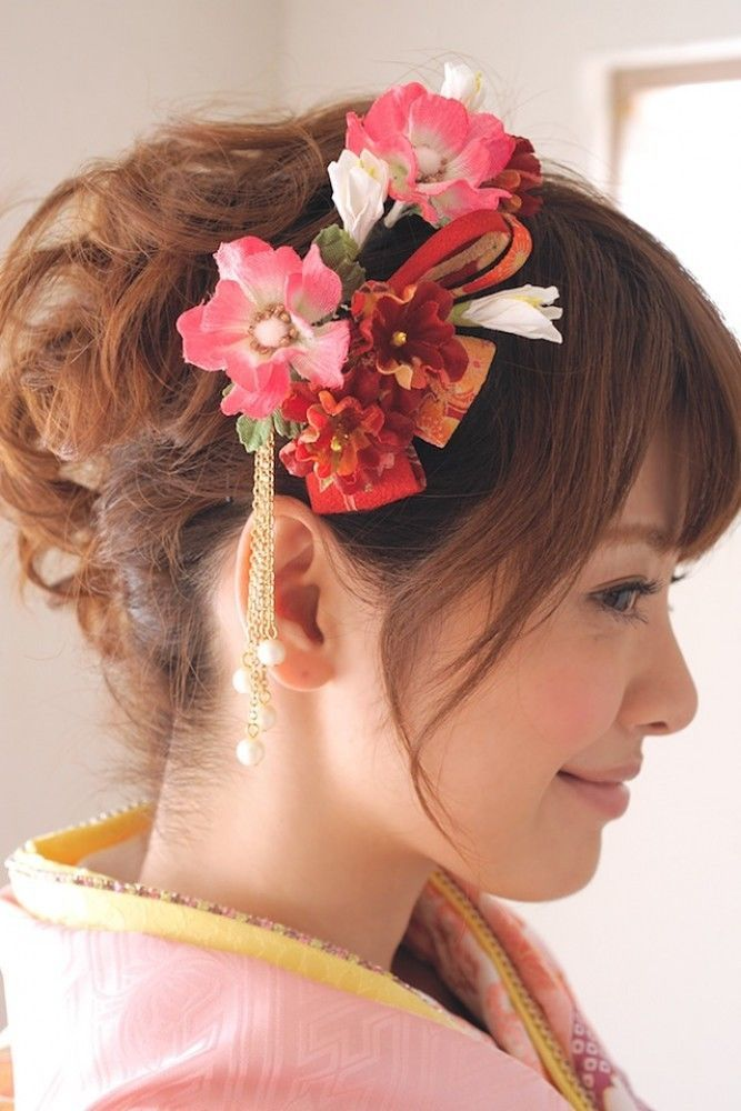 Details About New Japanese Hair Accessories Set Of 3 Kimono Yukata