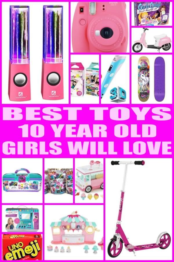 Best Toys for 10 Year Old Girls | Christmas gifts for 10 ...