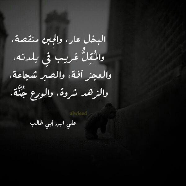علي ابن ابي طالب Proverbs Quotes Ali Quotes Islamic Quotes