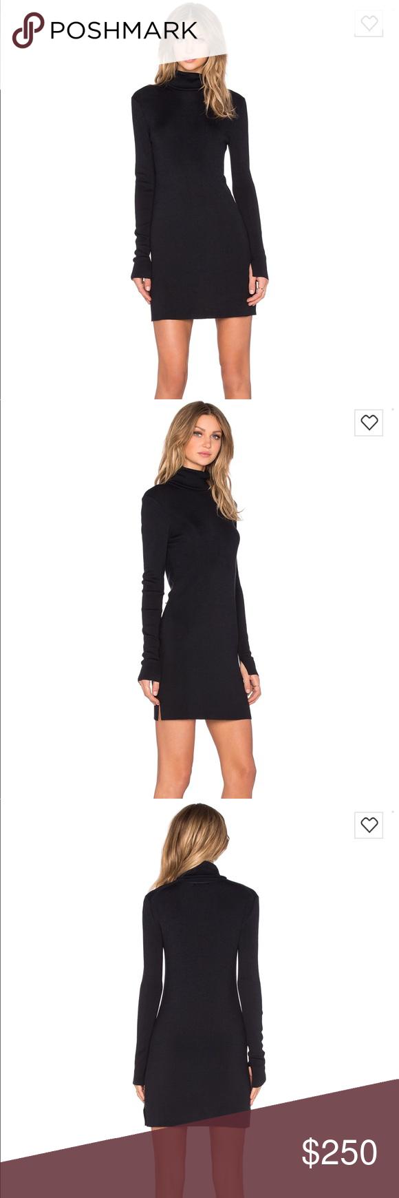 Nwt equipment silk elastane turtleneck dress turtleneck dress