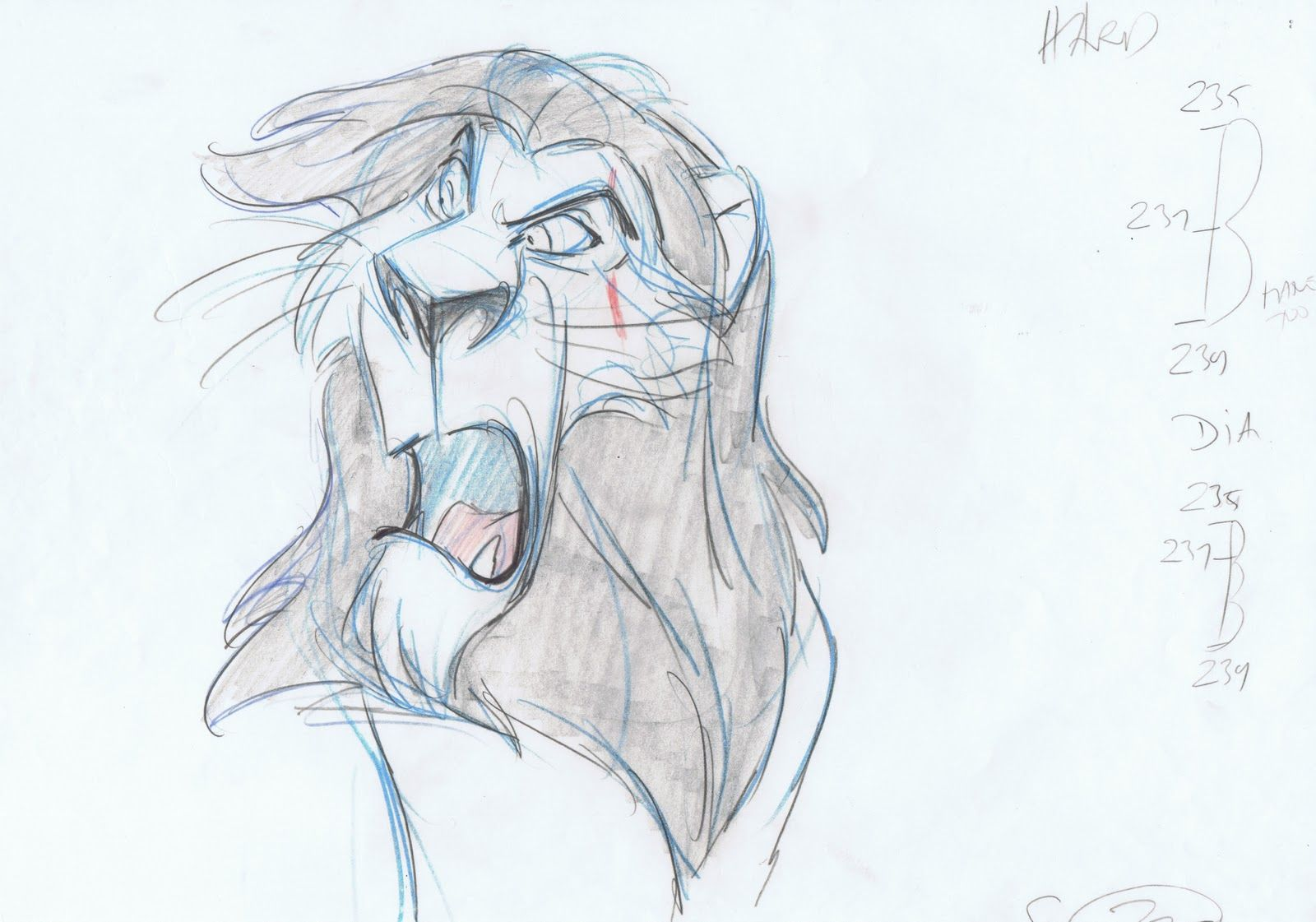 Line Art Lion : Living lines library the lion king character scar