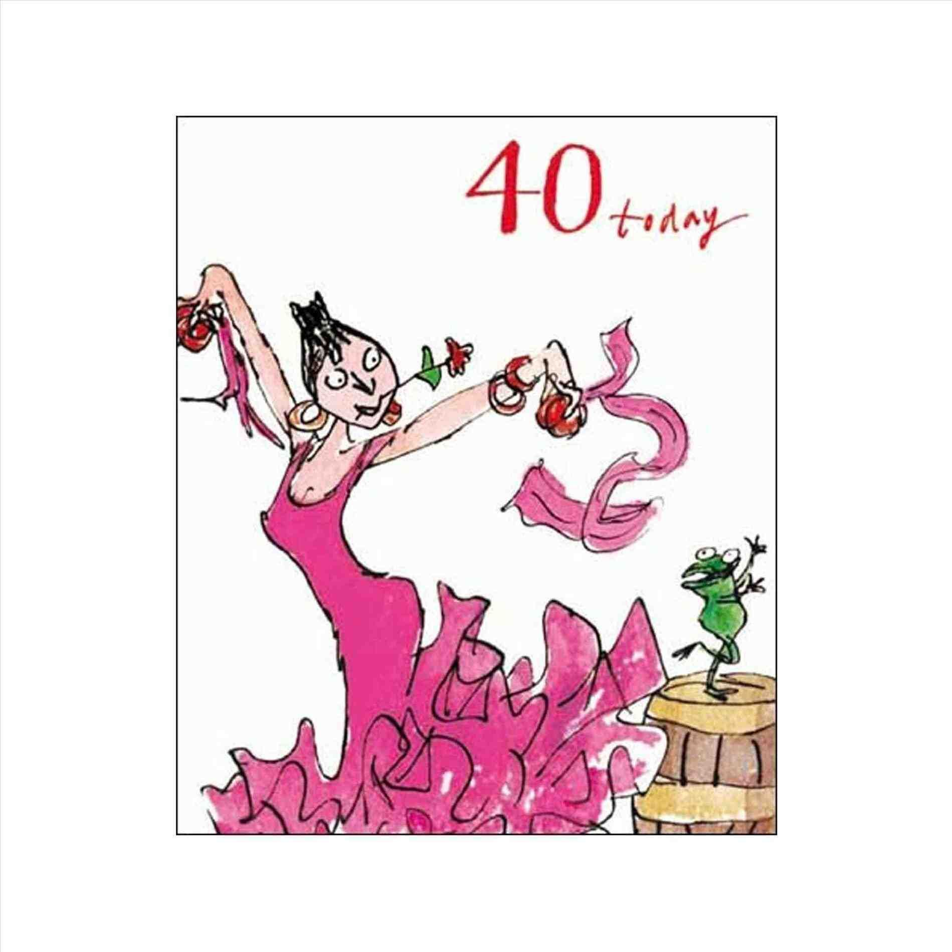 40th Birthday Cards, Funny