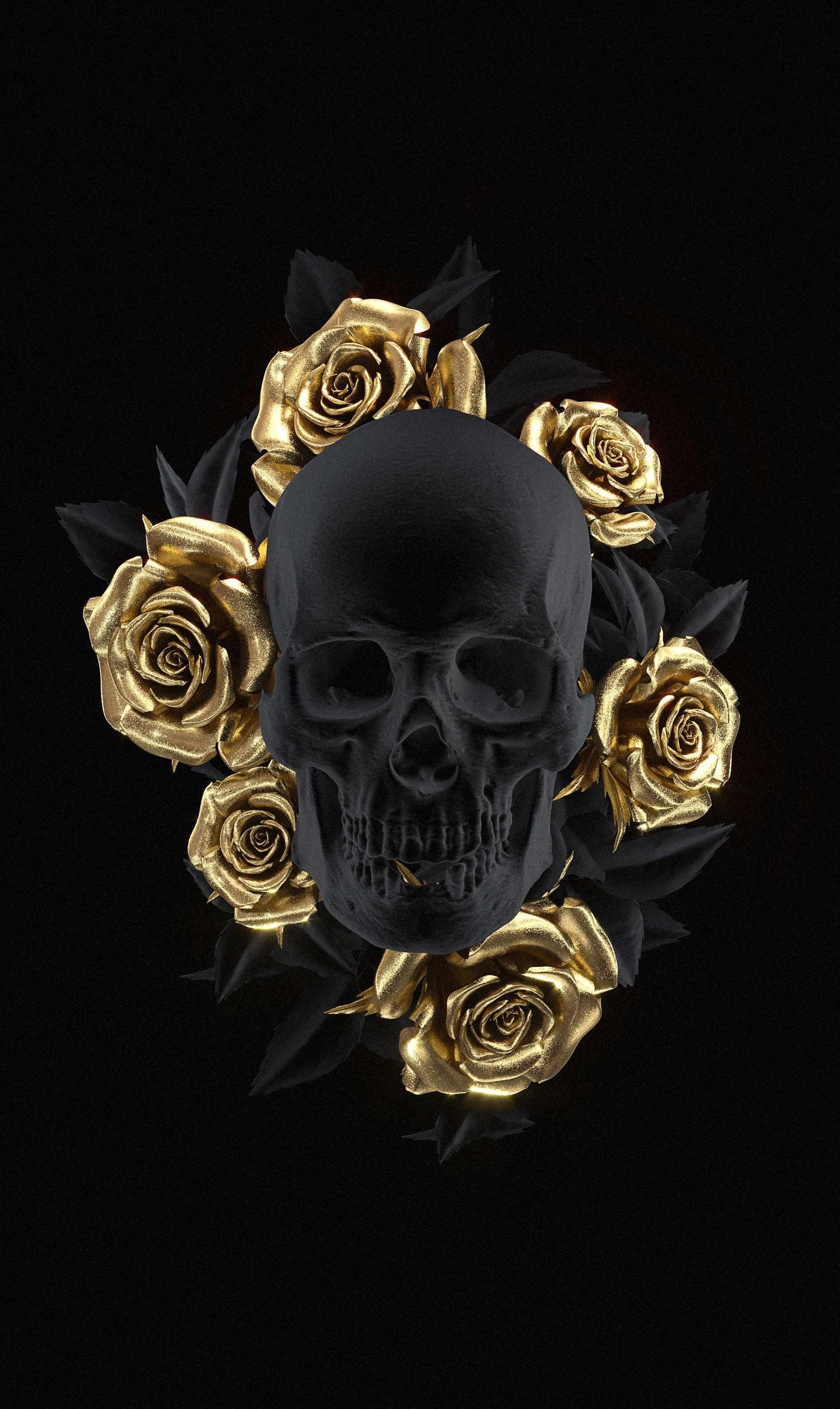 Happy Birthday Skull Images Awesome Skull Art by Uk Artist
