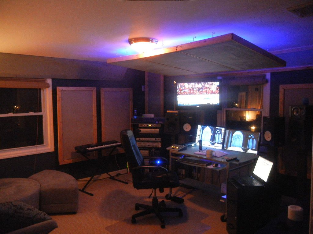 Diy Home Acoustic Treatment