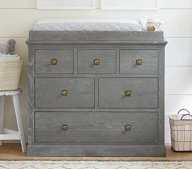 Charlie Dresser & Topper Set, Smoked Gray
