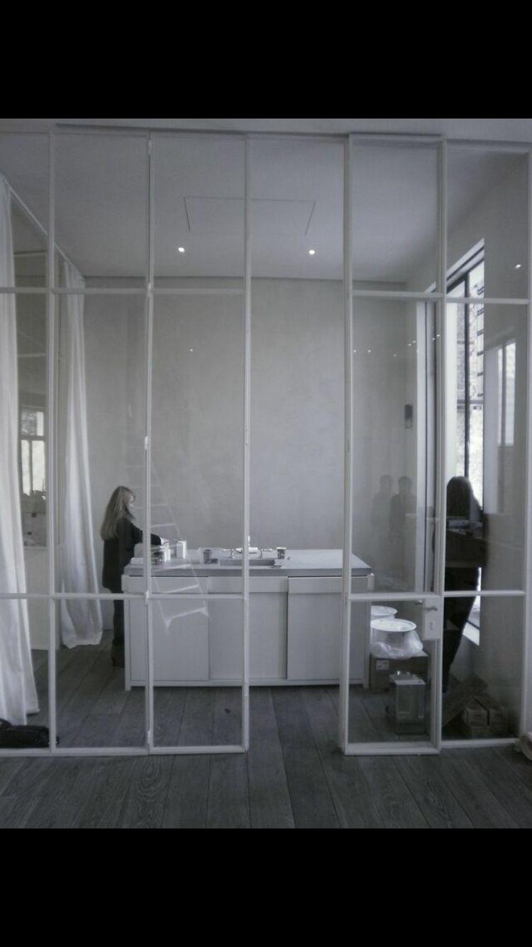 Steel Doors in white. www.gijsrobert.com | Versatility Of Sliding ...